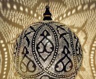 Verzilverde arabische lampen
